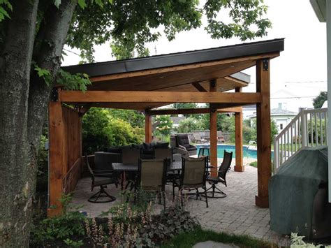 gazebo moderne design et r 233 alisation pur patio