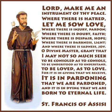 peace prayer of st francis of assisi travel