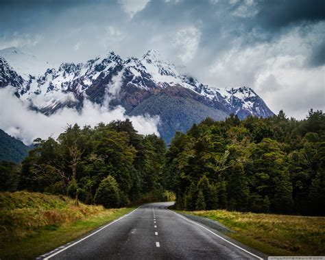 The Mountain Road Wallpaper