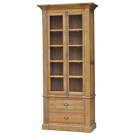 country bookcases country reclaimed wood single bookcase