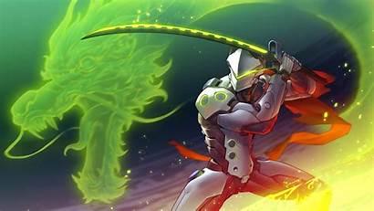 Overwatch Genji Audiojungle Wallpapers 4k Pixel4k Link