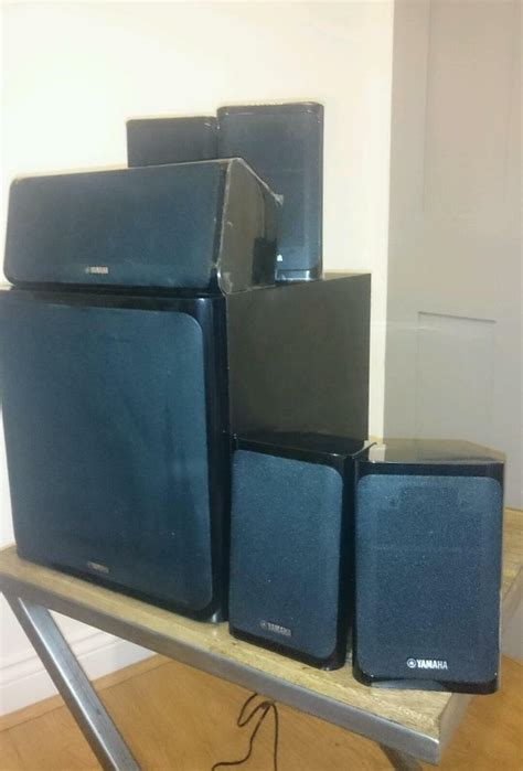 yamaha ns p40 yamaha speakers ns p40 includes rear stands in romford gumtree