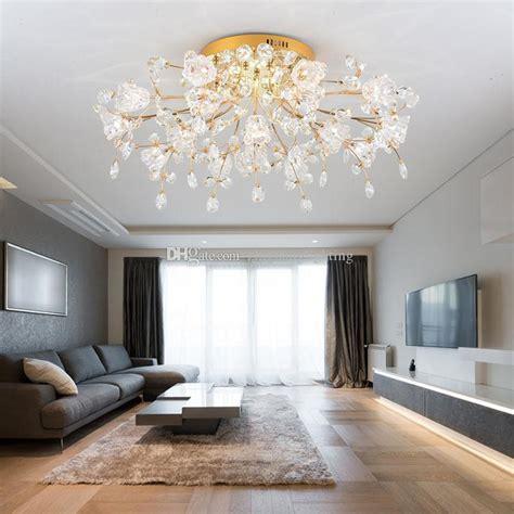 grosshandel moderne wohnzimmer kristall lampe