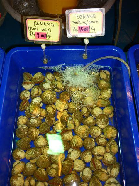 seafood sea food chinese air open tawau