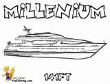 Coloring Pages Boats Ship Yachts Yacht Ships Mega Boat Colouring Sheets Cool Super Motor Offshore Boys Yescoloring sketch template
