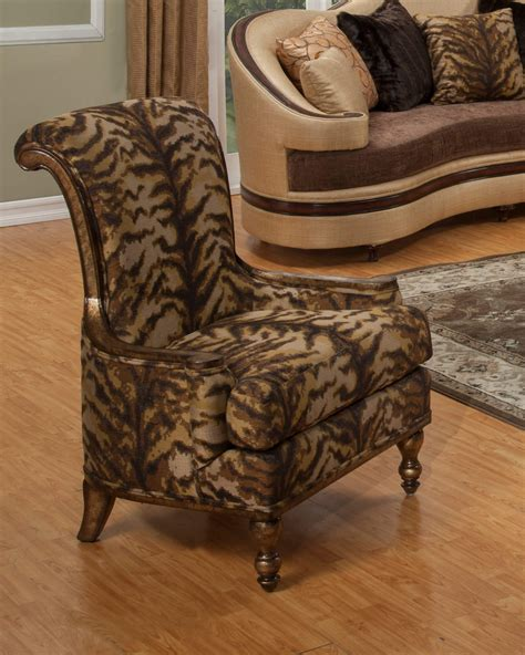 wood side chairs benetti s italia accent chair wood trim brown 1149