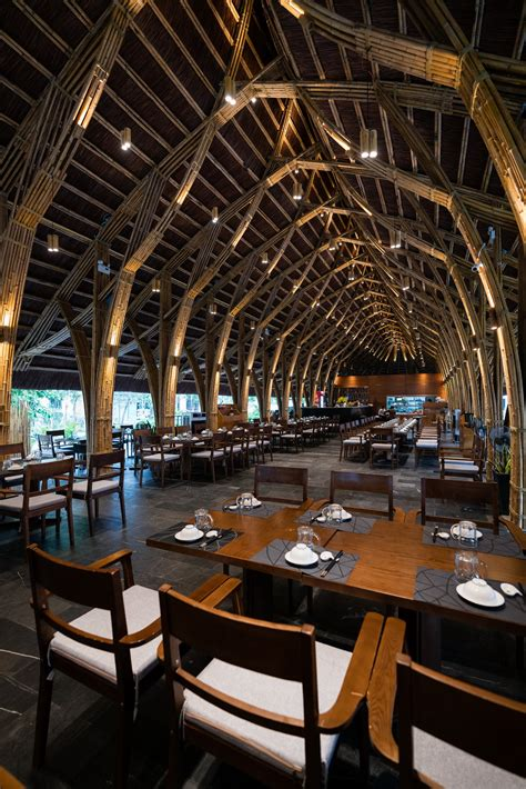 gallery bamboo long house restaurant bambubuild
