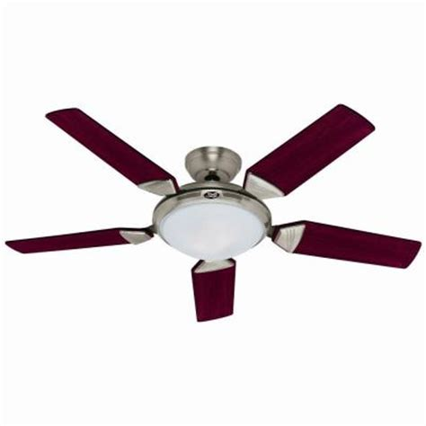 Home Depot Ceiling Fans Brushed Nickel by Ergonomic 56 In Brushed Nickel Ceiling Fan