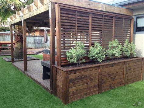 Backyard Privacy Screens Trellis by Best 25 Backyard Pergola Ideas Only On