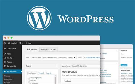 create website navigation menus  wordpress