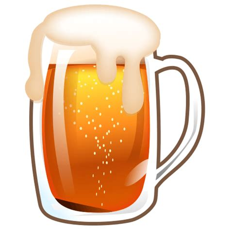 beer emoji beer mug emoji for facebook email sms id 11673