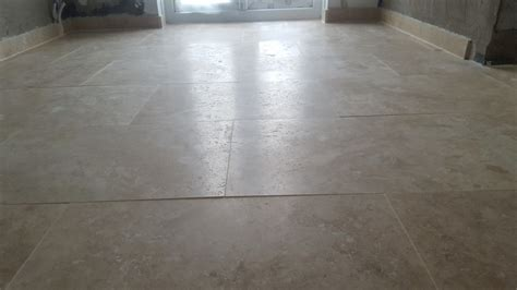 Tile Lippage Standards Uk by Removing Lippage From A Polished Travertine Floor