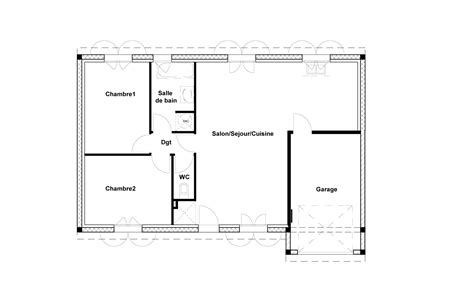 plan maison 6 chambres plan maison 70m2 plein pied 6 2 chambres systembase co
