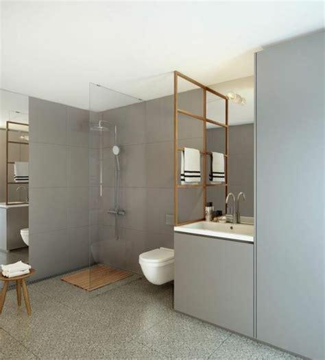 Moderne Badezimmermöbel Grau by Bambusmatte Eine Ganz Funktionale Kleinigkeit