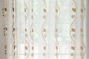 Blue Voile Curtains by Rose And Vine Sheer Curtains Gold