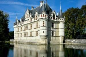 Azay Le Rideau Castle France Jigsaw Puzzle In Castles