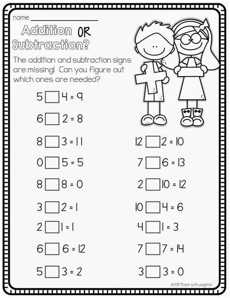 add  subtract  images math addition st grade