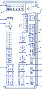 Dodge Sxt Magnum 2007 Power Distribution Fuse Box  Block Circuit Breaker Diagram