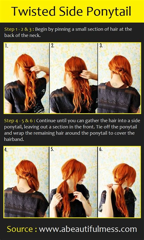 beautiful hairstyles  long hair step  step pictures