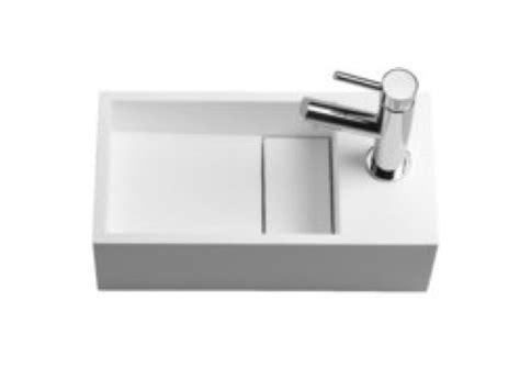 meubles lave mains robinetteries lave mains lave mains pour toilette 233 vacuation cach 233 par