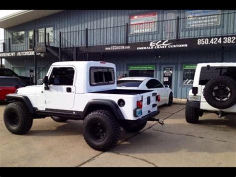 jeep rubicon truck conversion grtop  pro comp wheels
