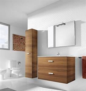 Meuble Salle De Bain Roca : nos meubles de salle de bain autour du carrelage ~ Dallasstarsshop.com Idées de Décoration