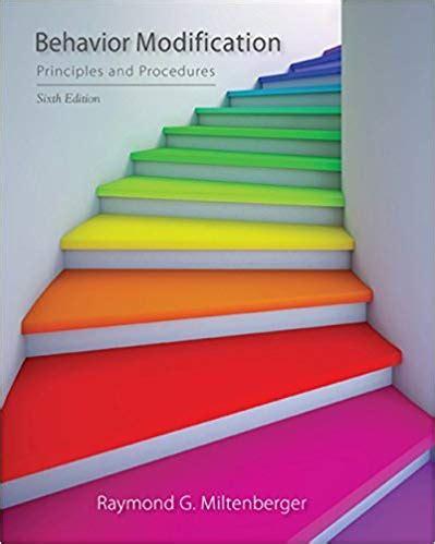 Behavior Modification Miltenberger Pdf by Behavior Modification Miltenberger 4th Edition Pdf