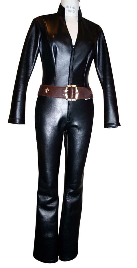 leather jumpsuits collared leather jumpsuit womens leather jumpsuit
