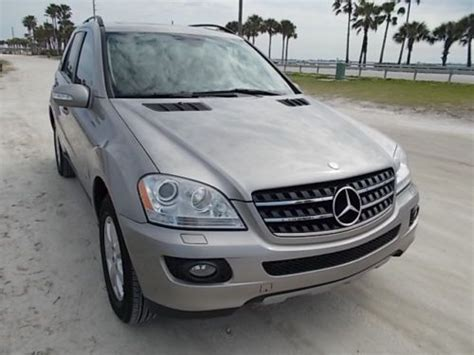2 were warranted but last was partly warranted. Find used 07 MERCEDES BENZ ML 350 - CLEAN FLORIDA SUV - NO ACCIDENTS - ORIGINAL PAINT in Palm ...