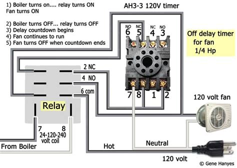 how to wire ah3 3 timer