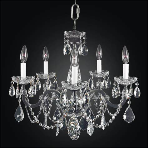 5 light crystal chandelier iron and crystal chandelier 5 light chandelier 543a
