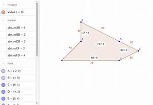Fünfeck Berechnen : fl chenberechnung unregelm ssiges f nfeck geogebra ~ Themetempest.com Abrechnung