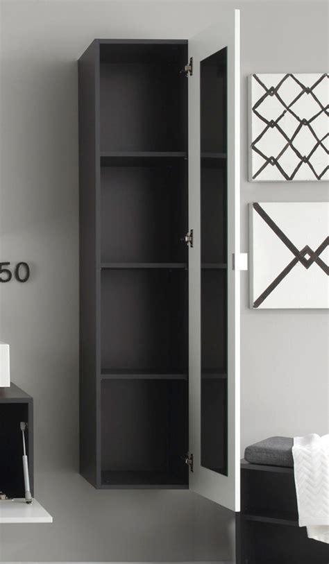 badezimmer hängeschrank mit spiegel badm 246 bel wei 223 grau g 252 nstig kaufen