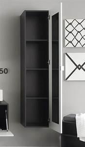 Spiegel Für Badezimmer Günstig : badezimmer hochschrank anthrazit mit spiegel inspiration design raum und m bel ~ Sanjose-hotels-ca.com Haus und Dekorationen