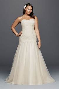 Trumpet plus size wedding dress with lace details style for Plus size trumpet wedding dress