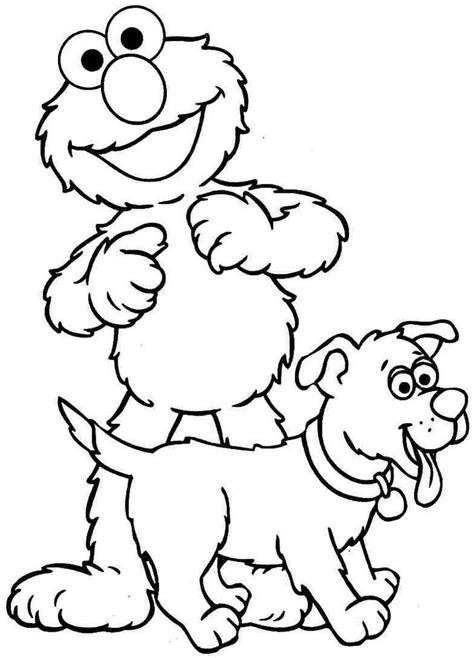 cute elmo coloring pages  printables colouring