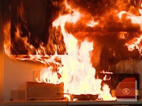 kitchen  fire youtube