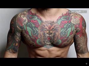 Chest tattoo men | Tattoos | Pinterest | Chest tattoo ...