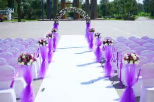 Purple And White Decoration For Wedding by Wonderful Photos Of Purple Outside Wedding Decorations