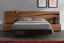 Platform Bed Decoration Lacquered Made In Spain Wood High End Platform Bed With Designer Touch