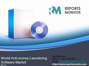anti money laundering program template - world anti money laundering software market authorstream