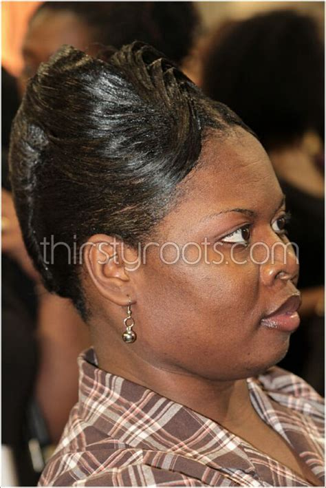 relaxed french roll tys hair styles french roll