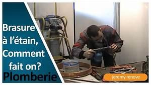 Comment Faire Une Soudure à L étain : comment faire une brasure tendre souder l 39 etain youtube ~ Premium-room.com Idées de Décoration