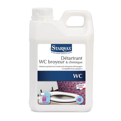 d 233 tartrant pour wc broyeurs starwax produits d entretien maison