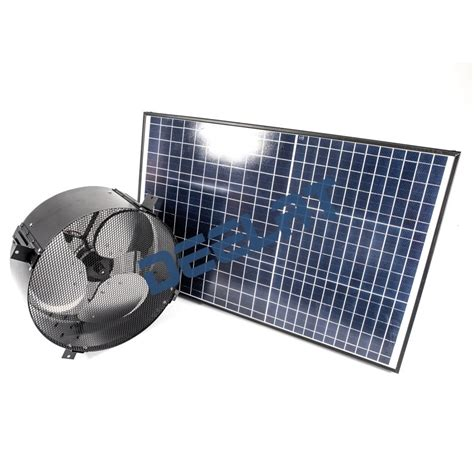 solar powered box fan solar powered exhaust fan and ventilator 40w