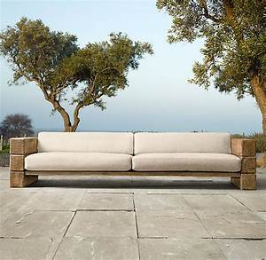 114 aspen sofa cushion maison pinterest With restoration hardware outdoor sectional sofa