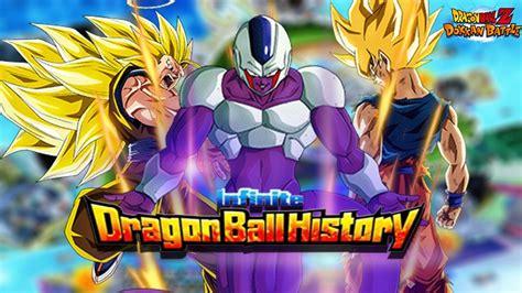 stage  infinite dragon ball history dbz dokkan