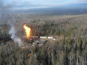 Gas well burns out of control in northeastern B.C ...