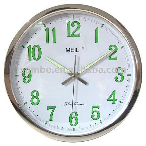light wall clock keep time even in the warisan lighting