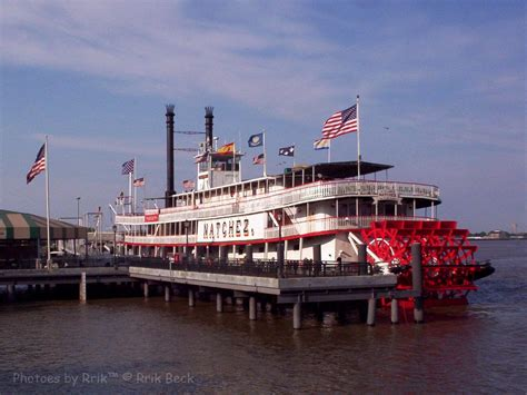 Steamboat Natchez by On The River New Orleans Uptown